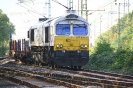 077 028-4 Euro Cargo Rail am 8.10.2018 Oberhausen Abzw. Walzwerk