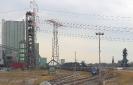 272 001-9 drückt den Kohlezug vom Lager Driesenbusch zum Kraftwerk Walsum rein.