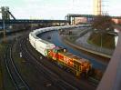 Thyssen Krupp Lok 602 (275 602) am 27.2.2021 in Duisburg, Werksbereich Schwelgern, bei der Kalkzustellung