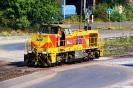 ThyssenKrupp Lok 607 am 27.7.2019 in Schwelgern