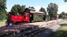 Der Zug vor der Abfahrt in Klütz, 17.8.2020