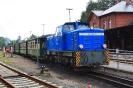 251 901-5 am 4.8.2014 in Putbus nach der Rückkehr von Lauterbach.