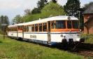 302 027 und 302 051 der Osning Bahn am 28.4.2015 in Kaunitz.